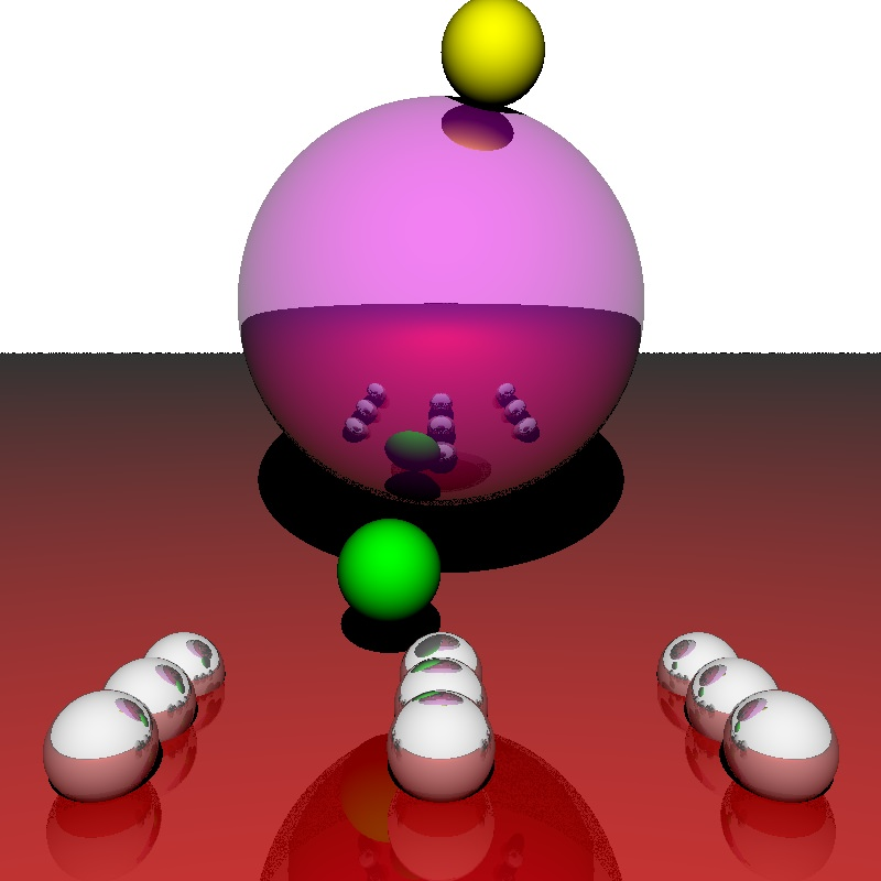 The image from Lisp raytracing, again